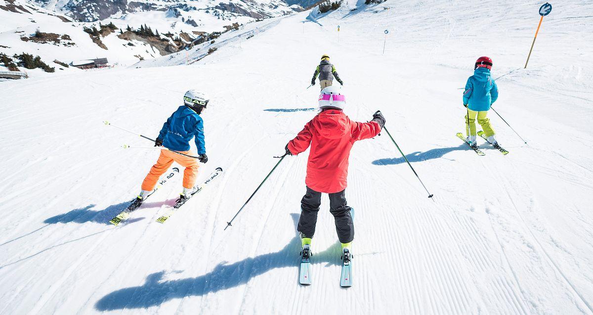 taille ski enfant piste