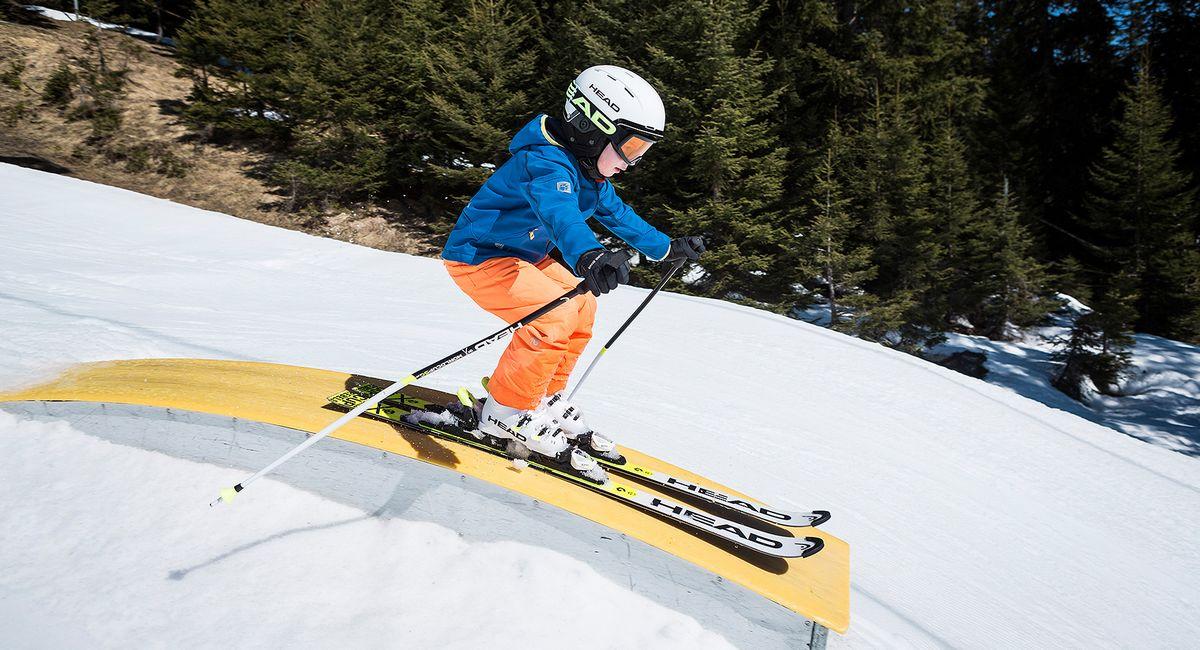 Größe für Freestyle-Skier für Kinder