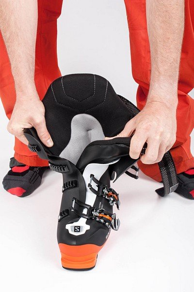 Apertura scarponi da sci
