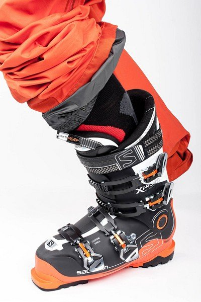 Size-check of ski boots