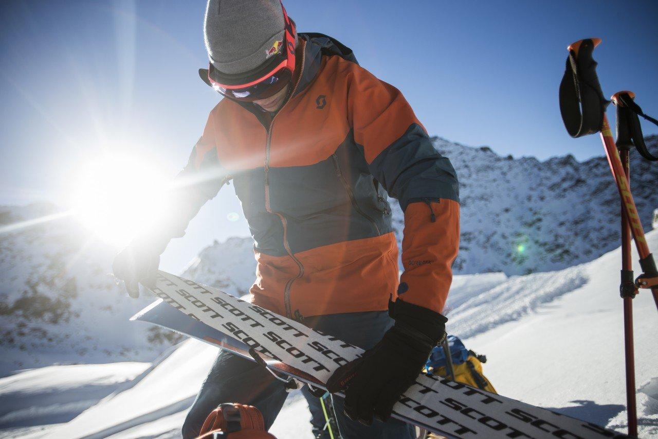 Dépeautage Ski rando SCOTT