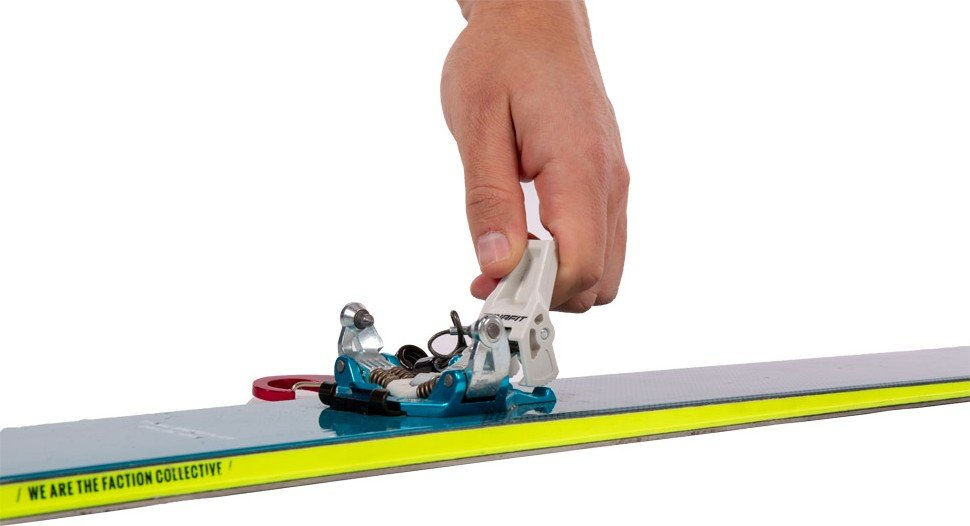 Touring ski binding maintenance