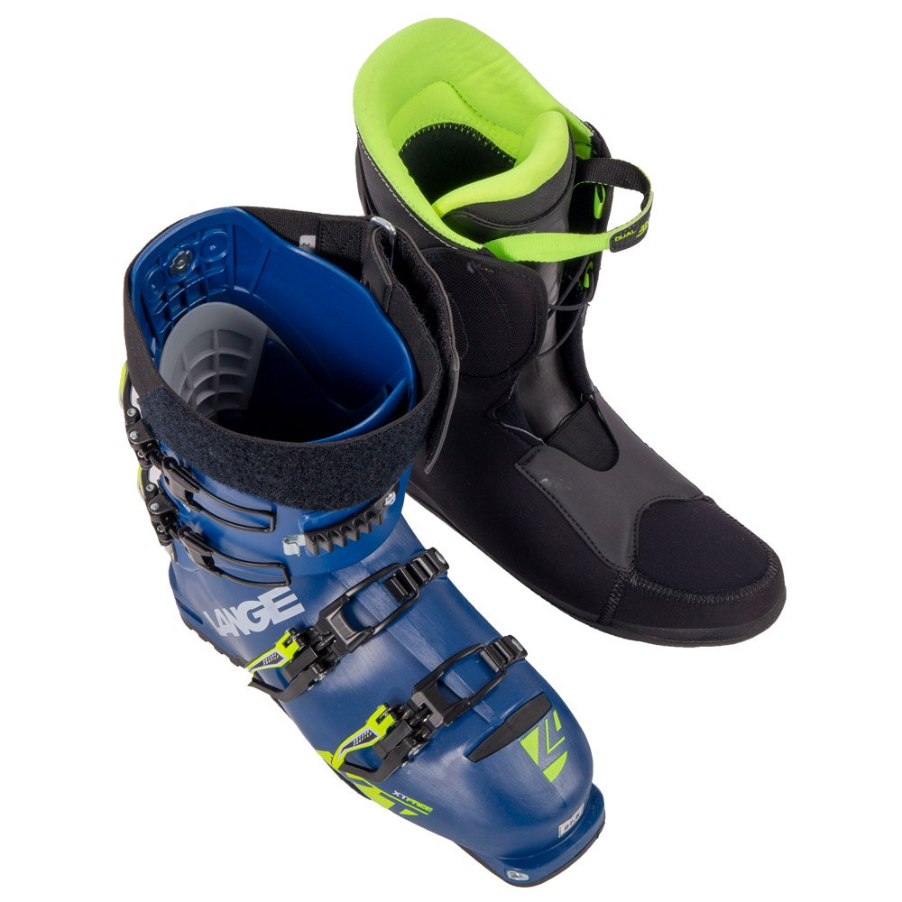 Liner and shell of a ski boot