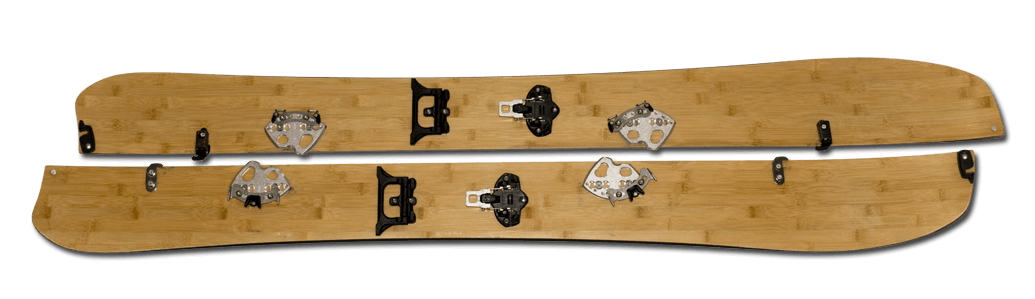Komplettes Splitboard