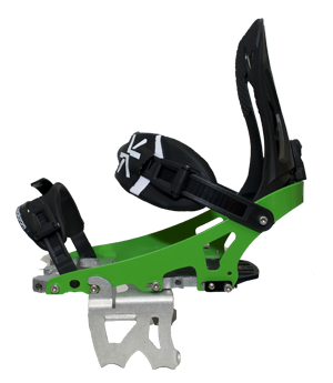 Crampon splitboard under bindings