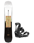Snowboard-Set (+Bindungen)
