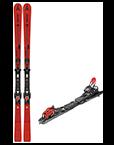 Pack esquís (+fijaciones)