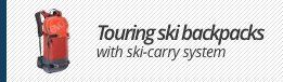 Touring ski backpacks
