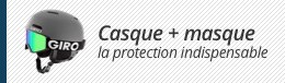 Pack casque et masque