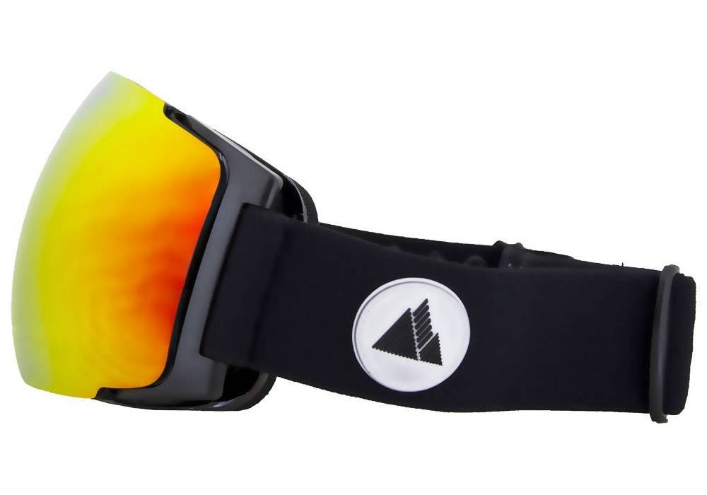 meilleur masque de ski winter your life meije orange vue cote