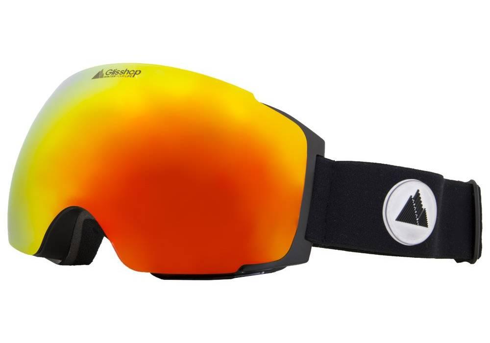 meilleur masque de ski winter your life meije orange vue face