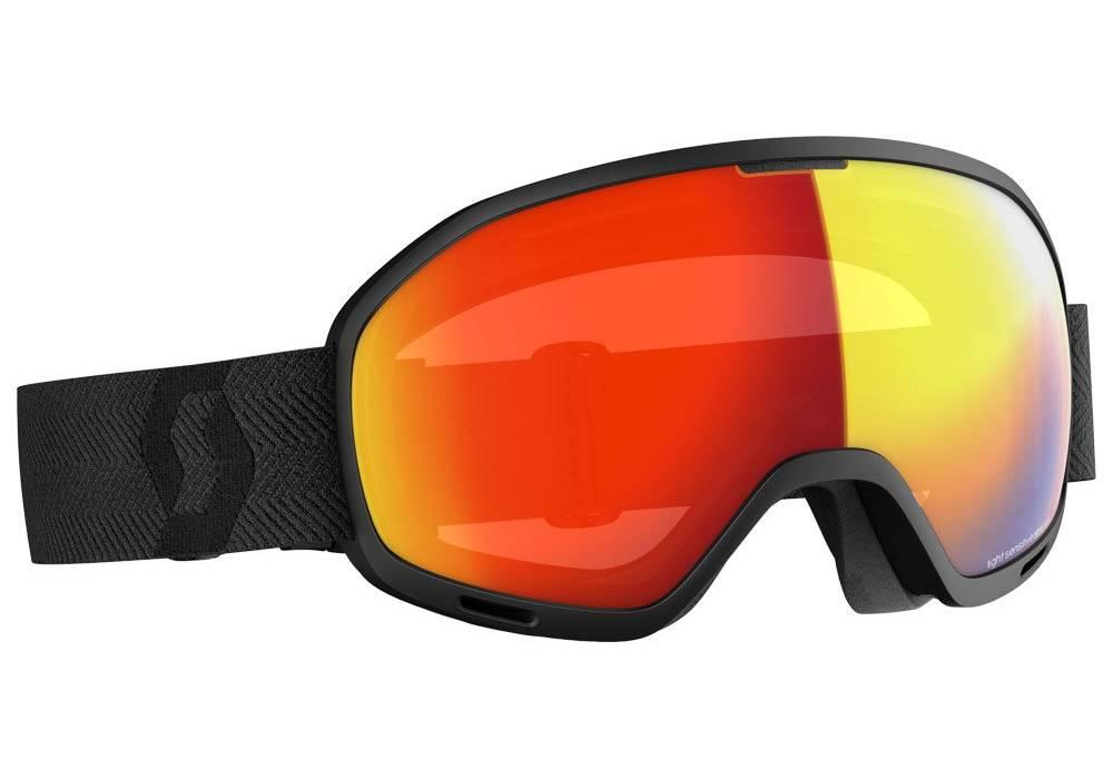meilleur masque ski scott unlimited ii otg red chrome