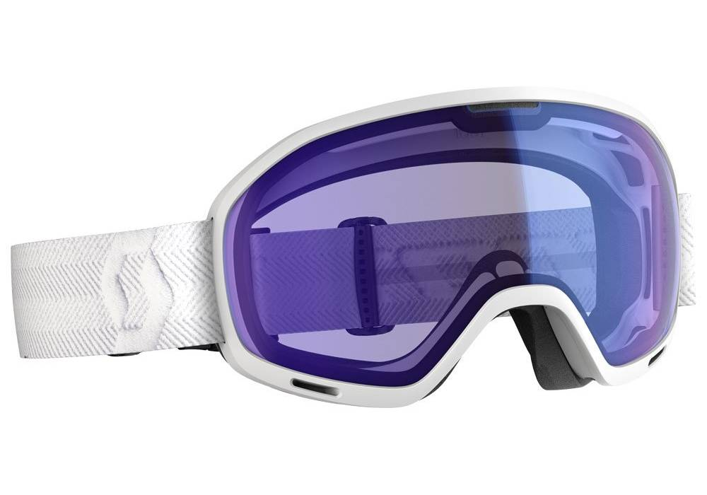 meilleur masque de ski mauvais temps scott unlimited ii otg blue chrome