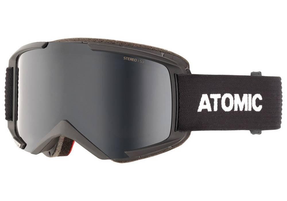 meilleure marque masque de ski atomic stereo black