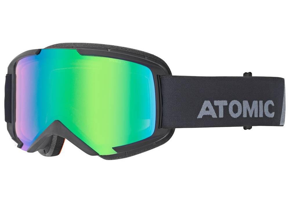 meilleur masque de ski atomic savor otg green stereo