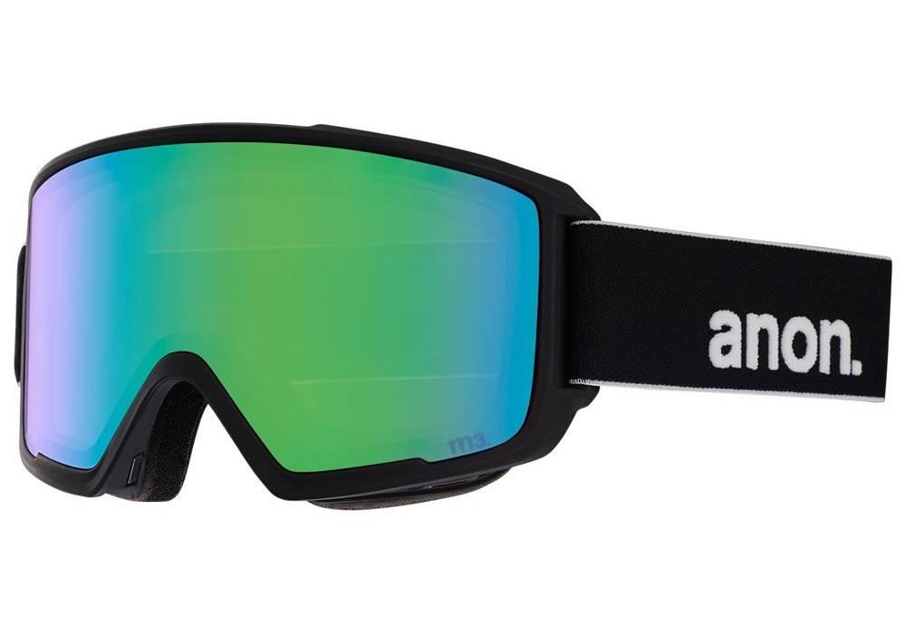 masque de ski meilleure marque anon m3 cote gauche