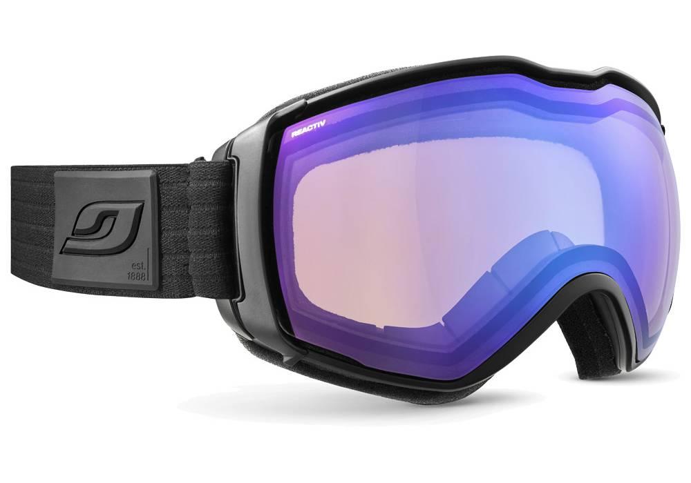 meilleur masque de ski photochromique julbo aerospace otg noir