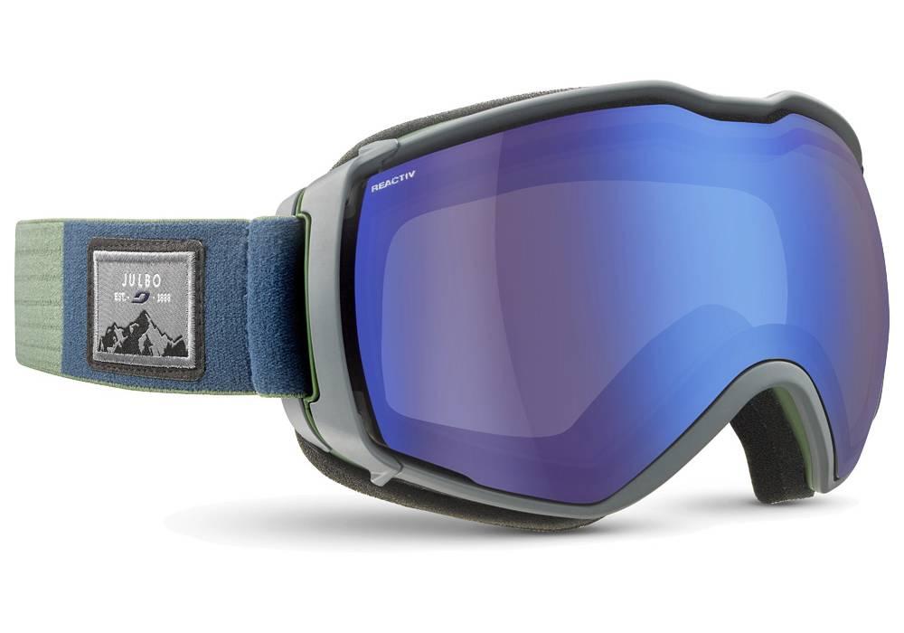 meilleure marque masque de ski photochromique julbo aerospace vert