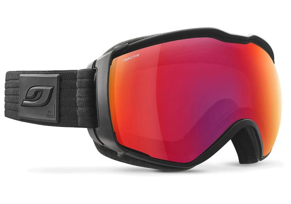 meilleur masque ski photochromique julbo aerospace otg noir reactiv all around