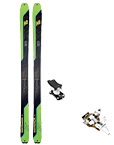 Pack skis rando + fixations