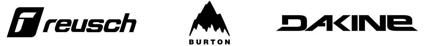 Logos Reusch Burton Dakine