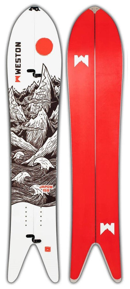 Planche splitboard Weston Japow