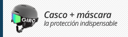 Casco + máscara