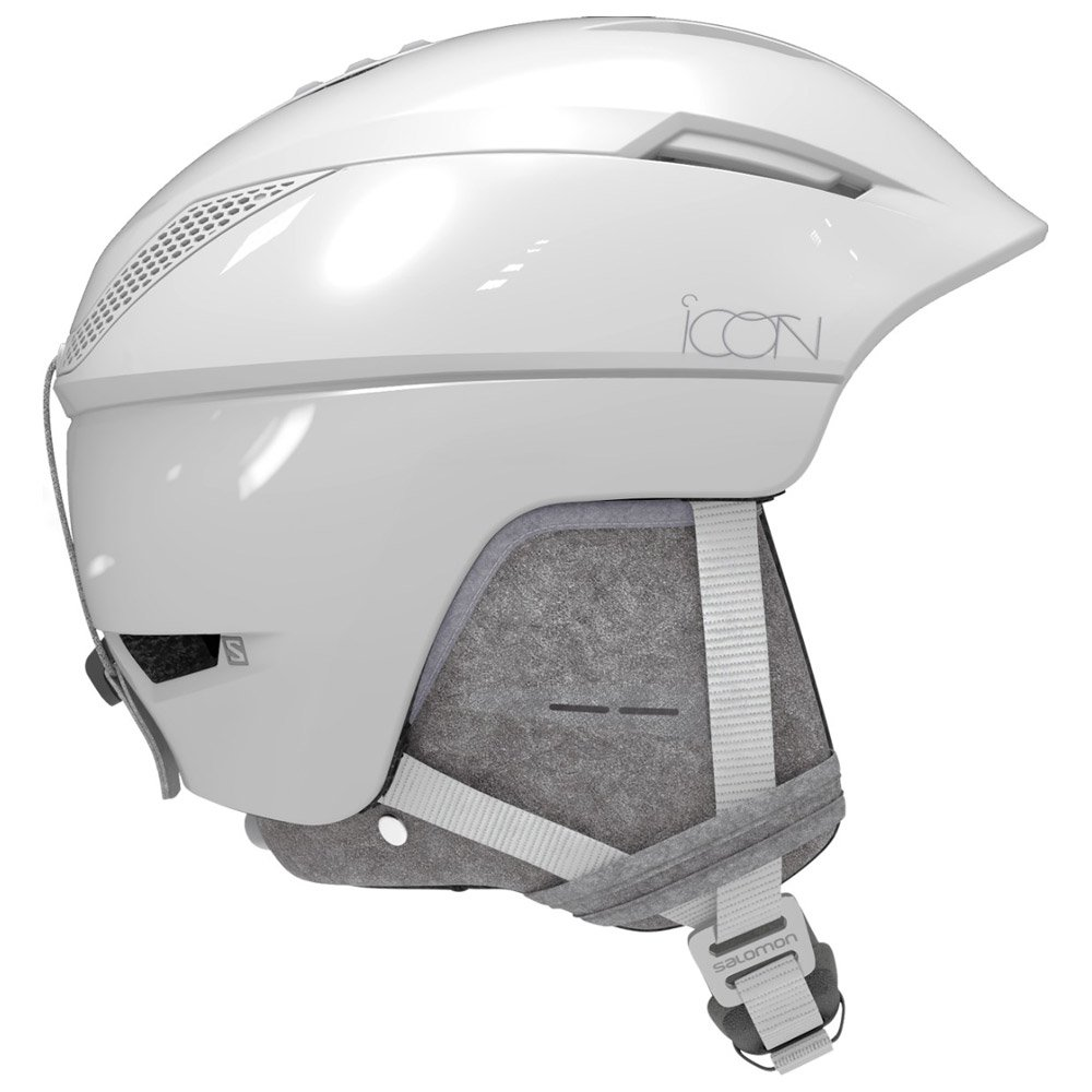 Salomon Helmet Icon² C. Air White Glossy Premium Overview