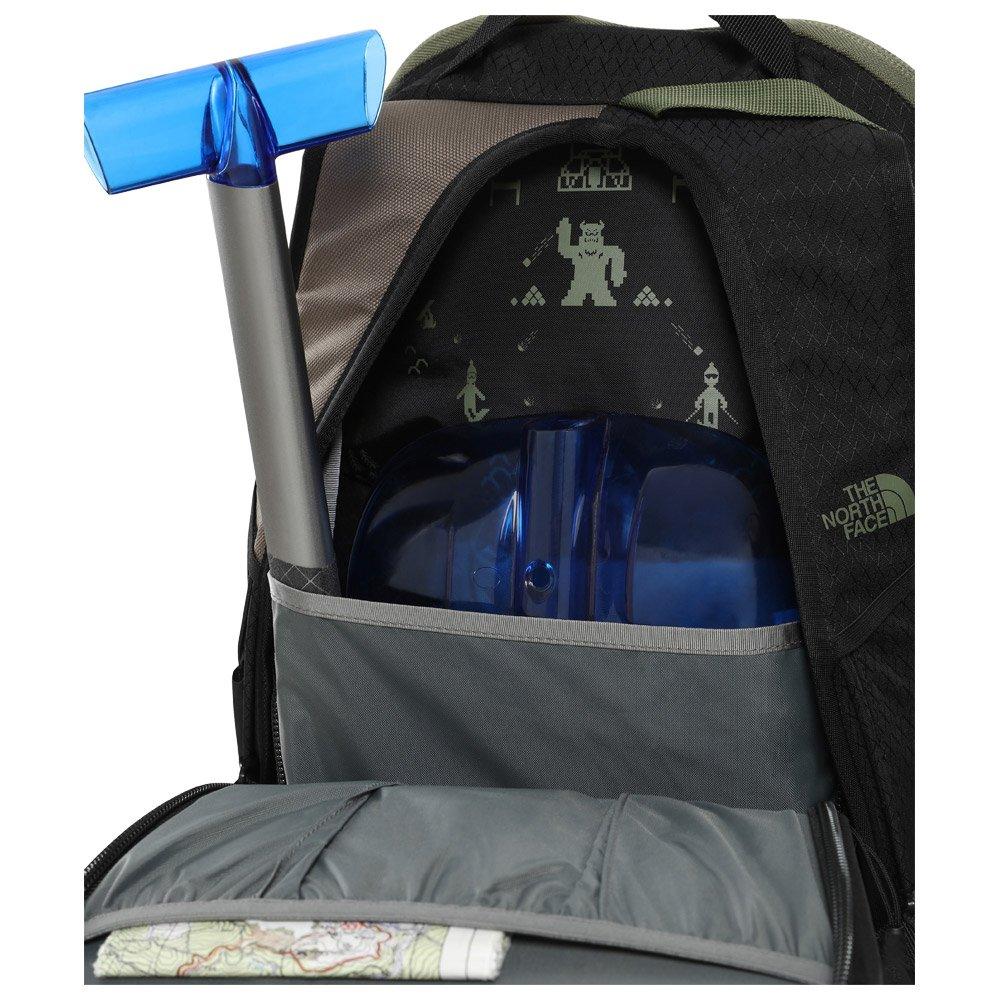 The North Face Backpack Slackpack Weimaraner Brown Camo Black 20 L Details