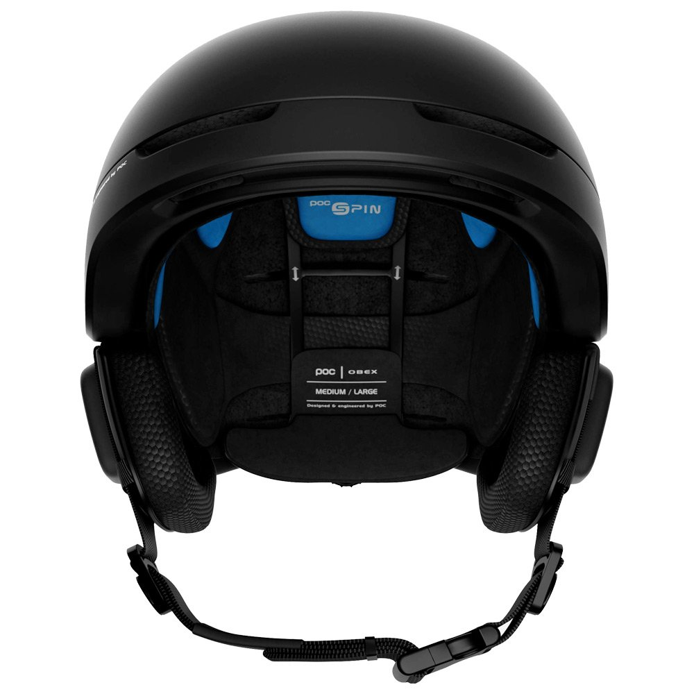 Poc Helmet Obex Spin Communication Uranium Black Back