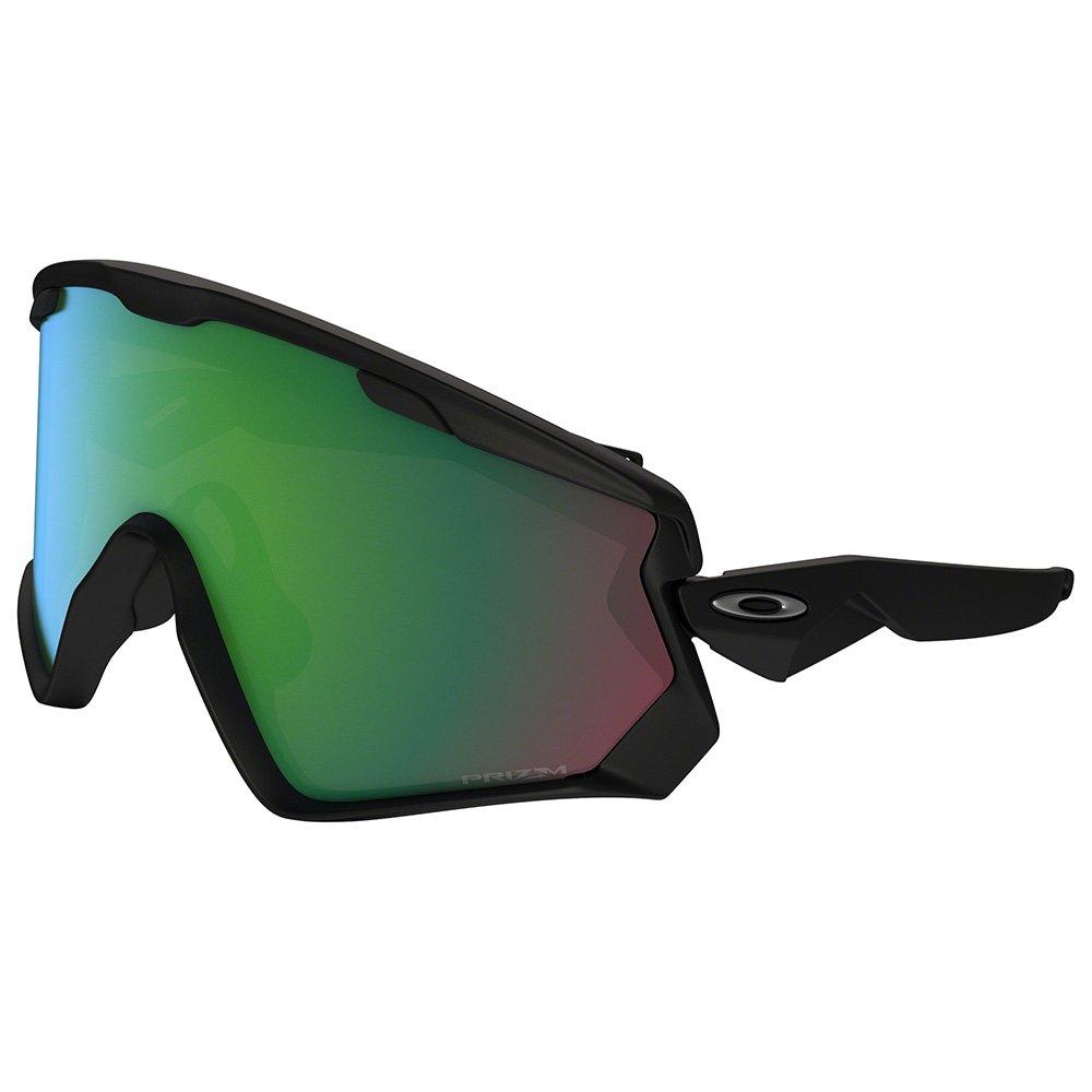 fournisseur officiel réputation fiable en vente en ligne Lunettes Nordique Oakley Wind Jacket 2.0 Matte Black Prizm Jade Iridium