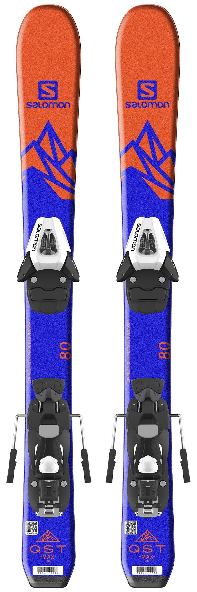 Pack Alpiene Ski Salomon Qst Max Baby + H C5 Black White