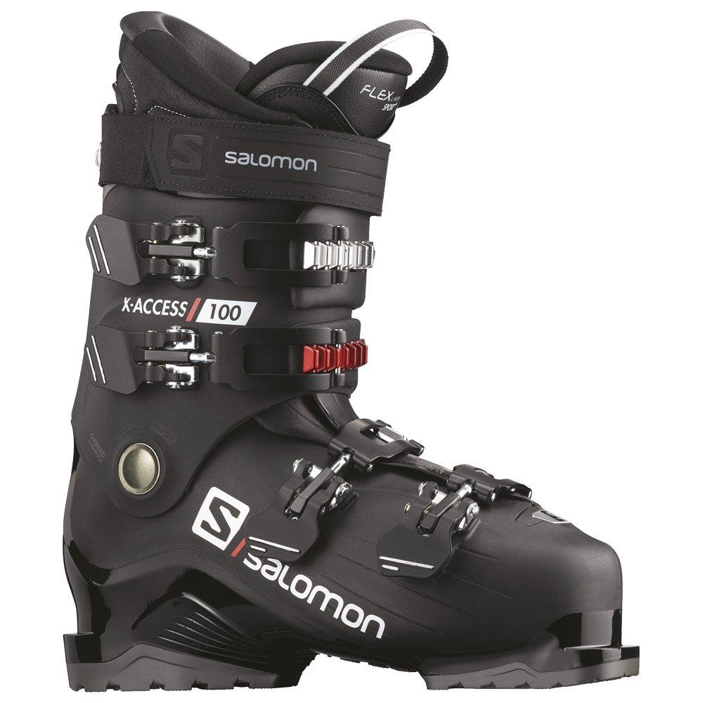 Chaussure de ski Salomon X Access 100 Black Belluga Red