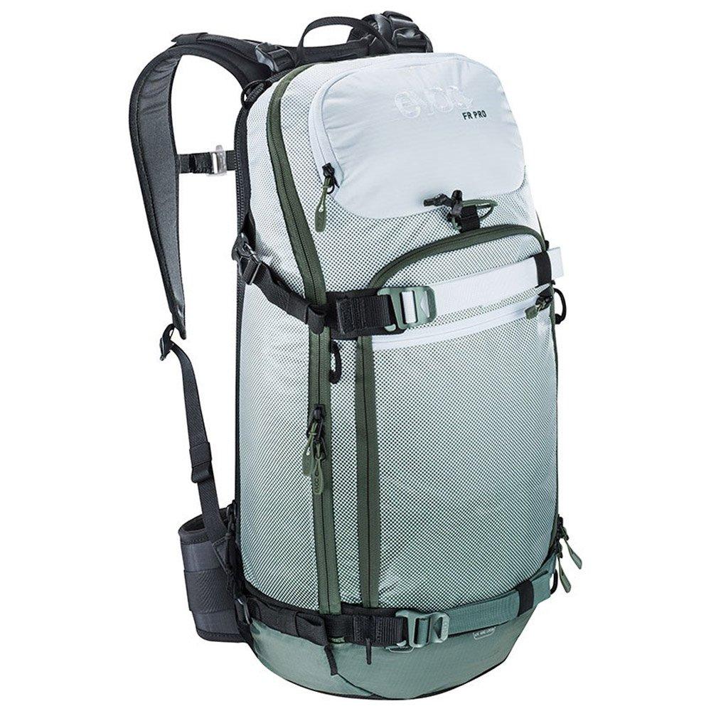 Evoc Backpack Fr Pro 20l Olive White General View