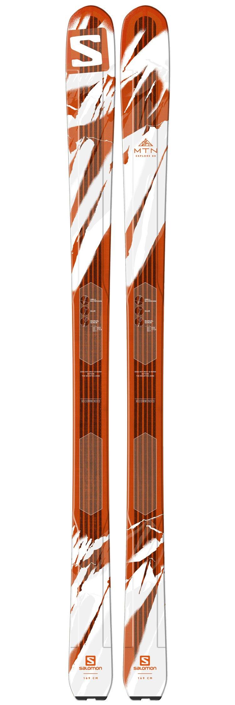 prezzo all'ingrosso stati Uniti repliche Salomon Alpine ski MTN Explore 88 - Winter 2017 | Glisshop