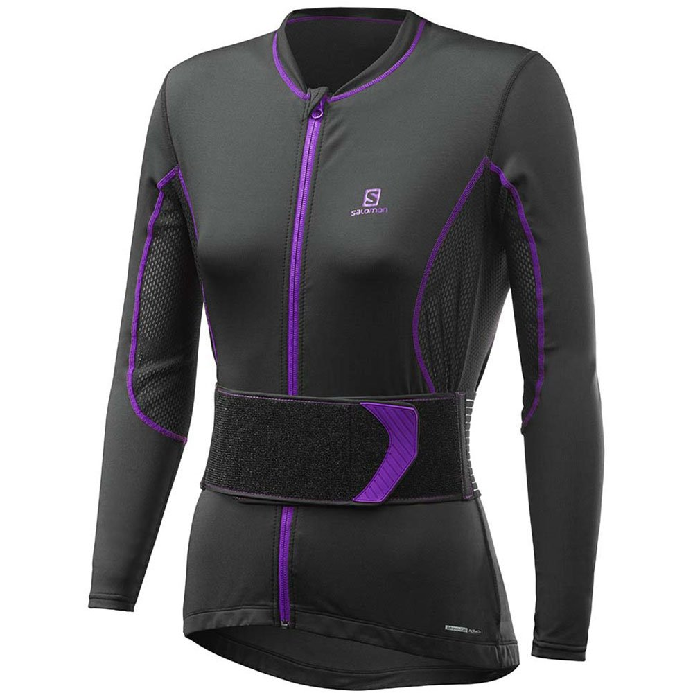 Salomon Secondskin Flexcell Black Purple Inverno 2018
