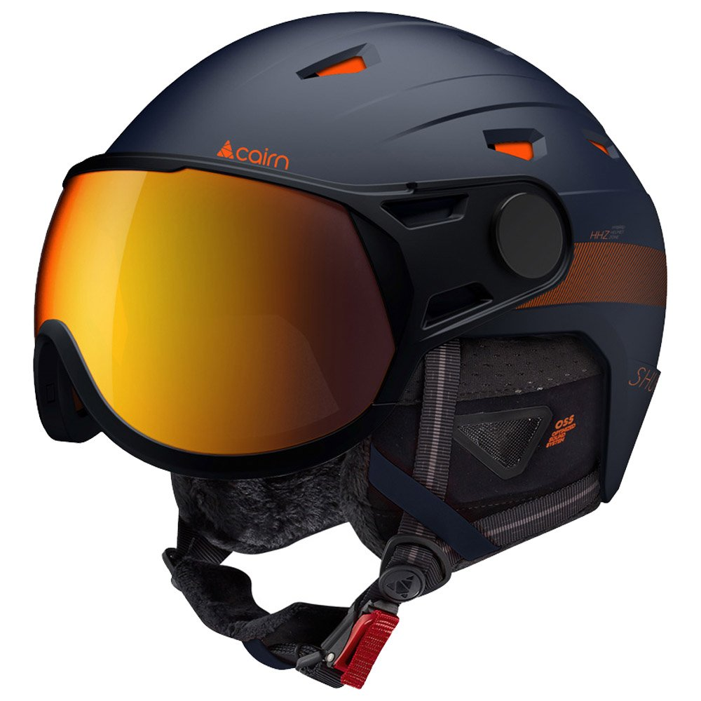 Cairn Visor helmet Shuffle Midnight Orange Evolight Nxt Overview