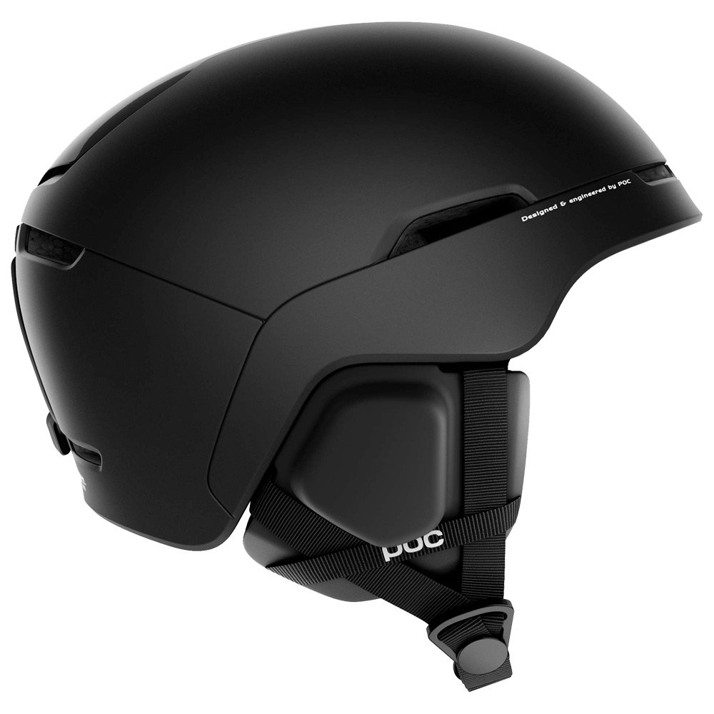 Poc Helmet Obex Spin Communication Uranium Black Front