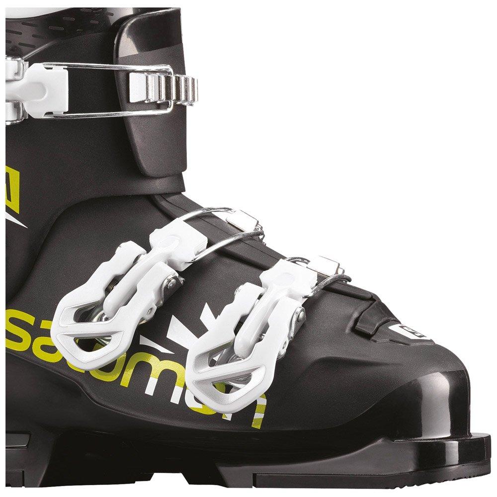 Skischuh Salomon Team T3 Black Acid Green White