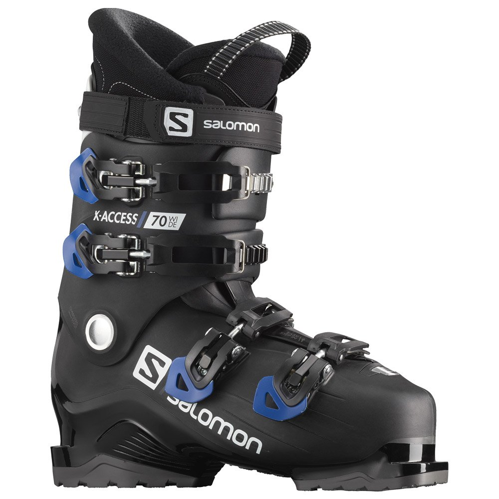Scarponi da sci Salomon X Access 70 Wide Black Race Blue