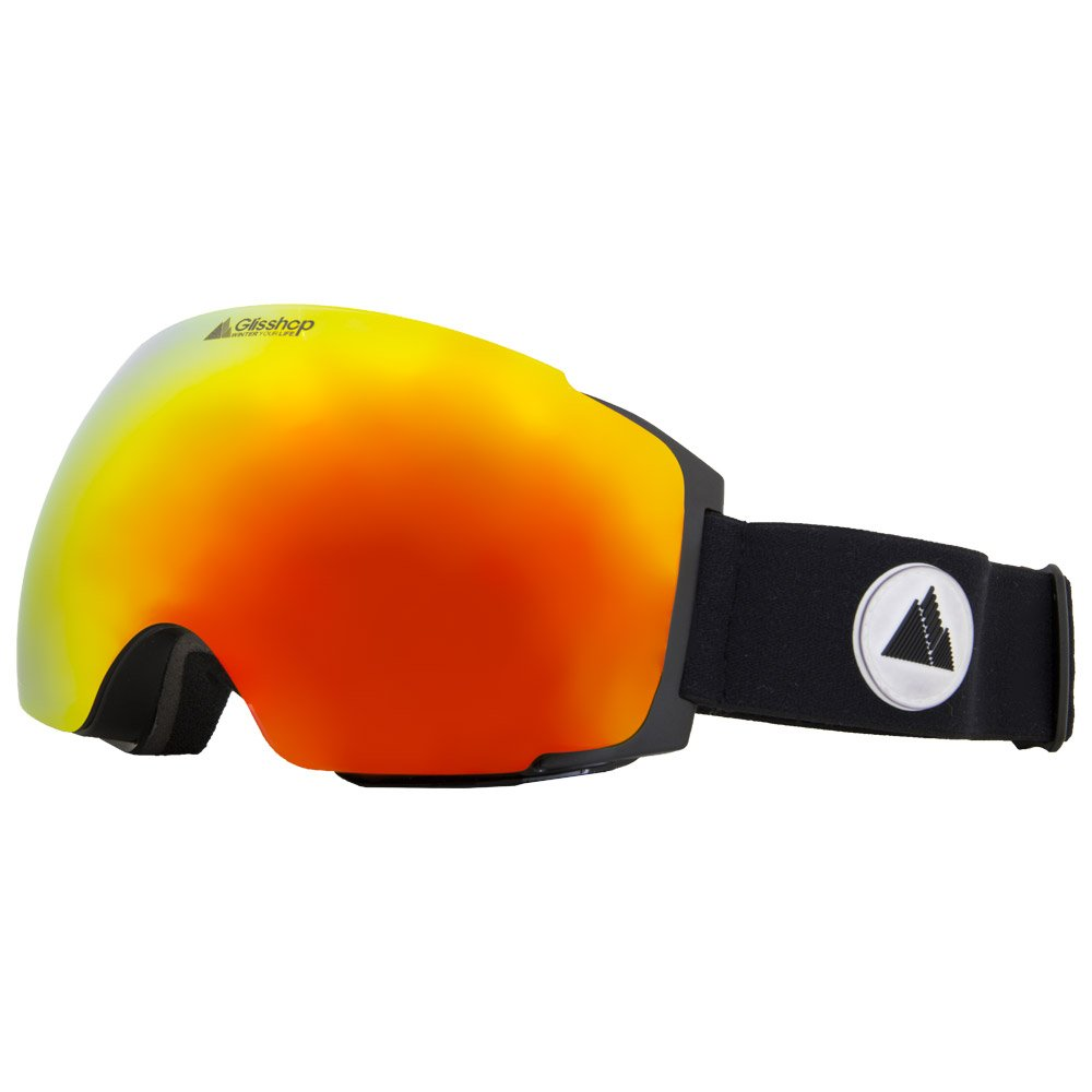 Winter Your Life Goggles Meije Black Lux3000 Red Ion + Lux1000 Yellow General View