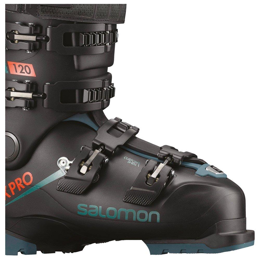 Skischoenen Salomon X Pro 120 Black Maroccan Blue Orange