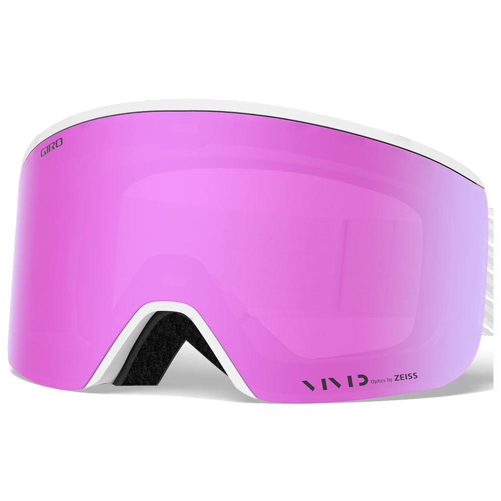 Giro Goggles Ella White Zag Vivid Pink + Vivid Infrared Back