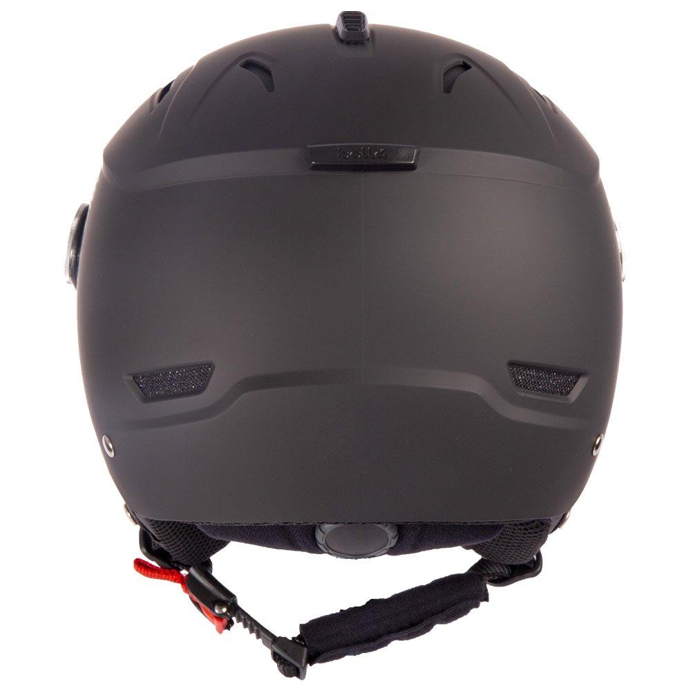 Bolle Helmet W/ Visor Backline Visor Soft Black & Silver With Silver Gun Visor + Lemon Visor Rear
