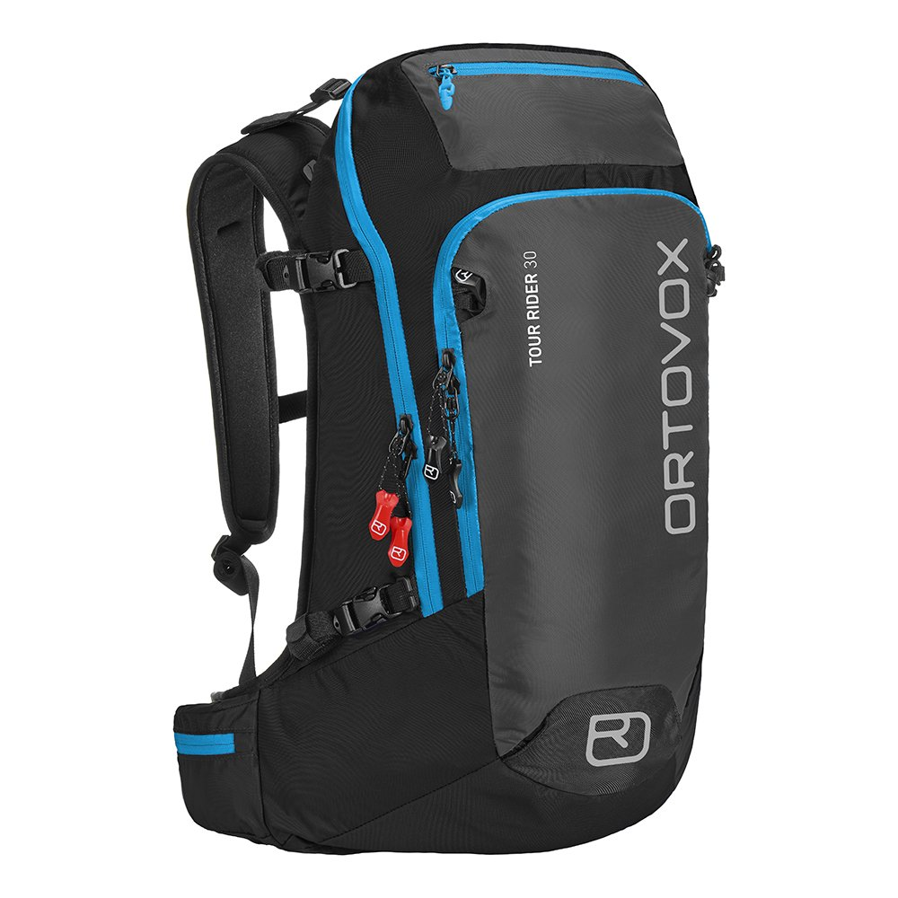 Ortovox Backpack Tour Rider 30L Noir Anthracite Overview