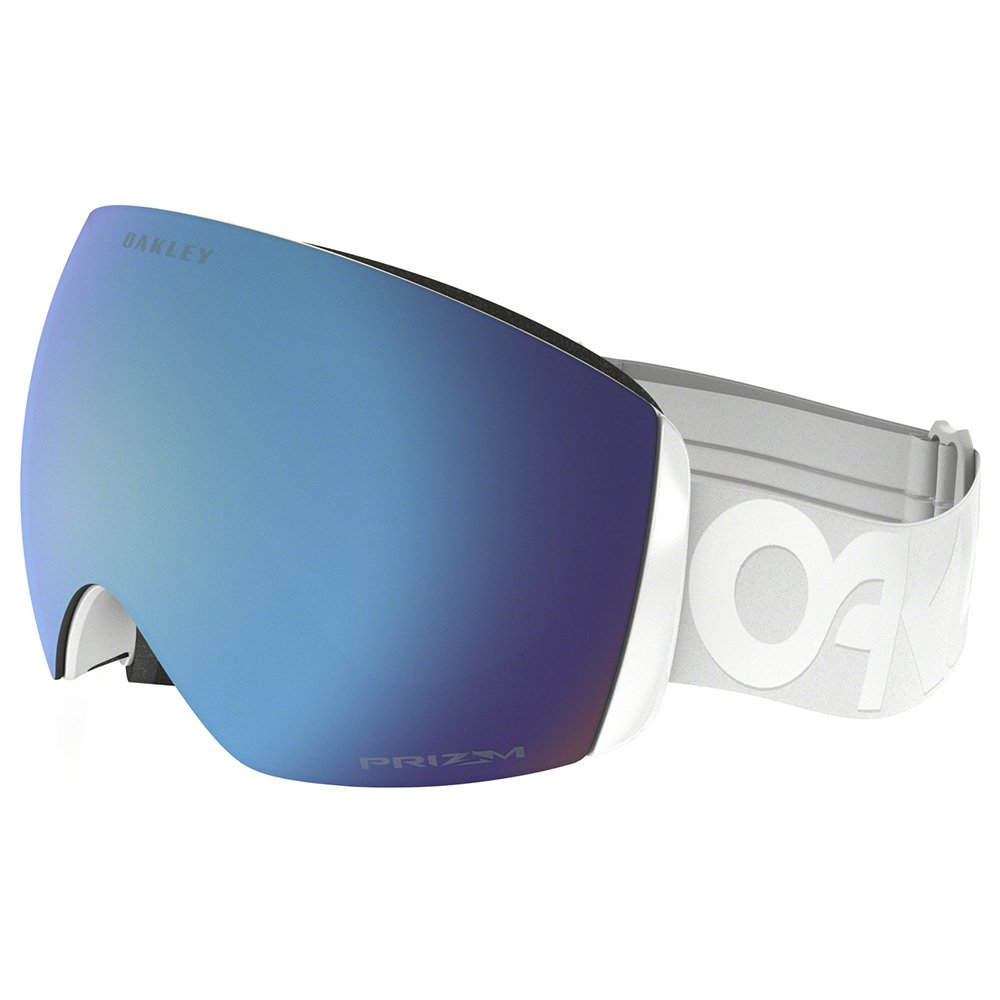 Oakley Goggles Flight Deck Factory Pilot Whiteout Prizm Sapphire Iridium General View
