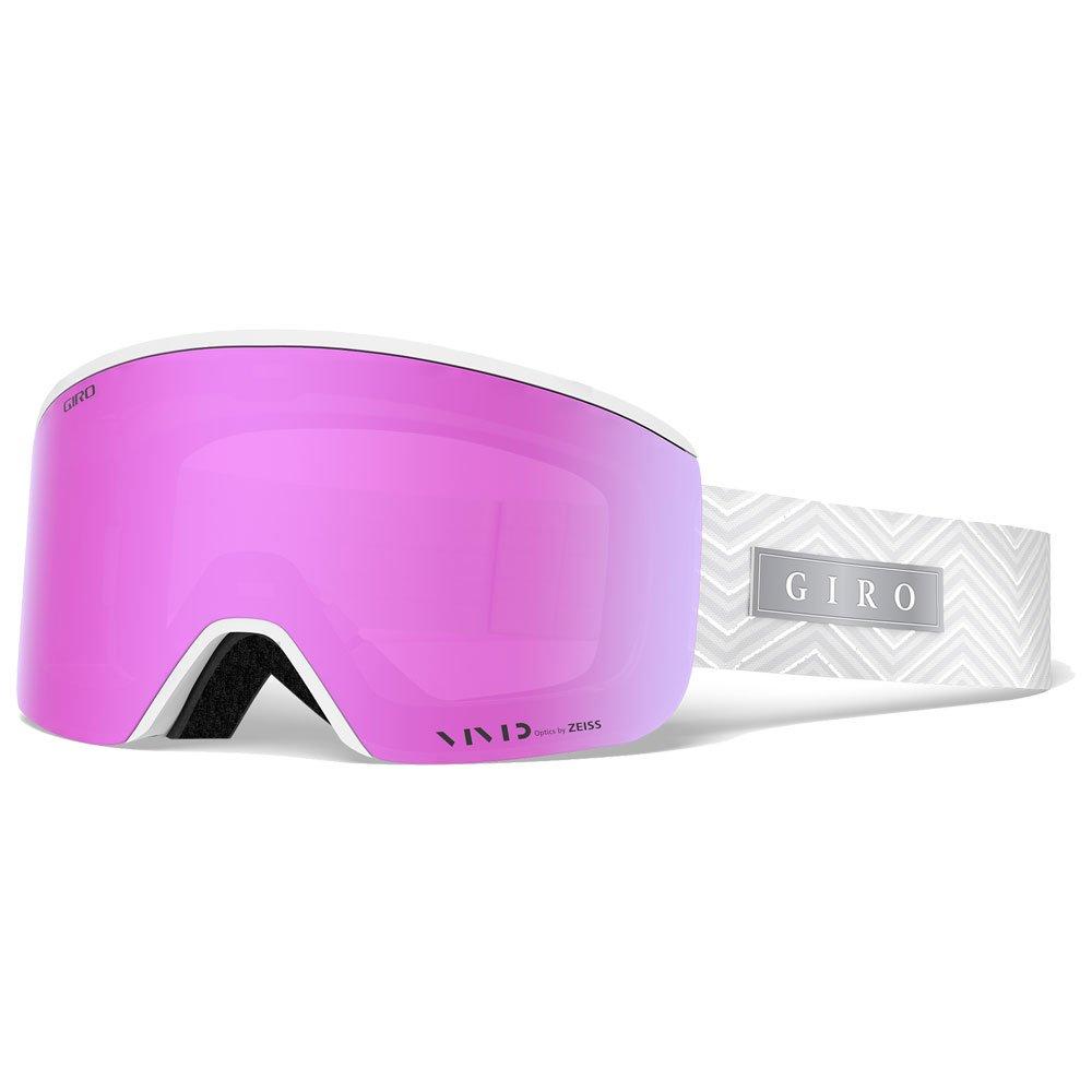 Giro Goggles Ella White Zag Vivid Pink + Vivid Infrared Overview