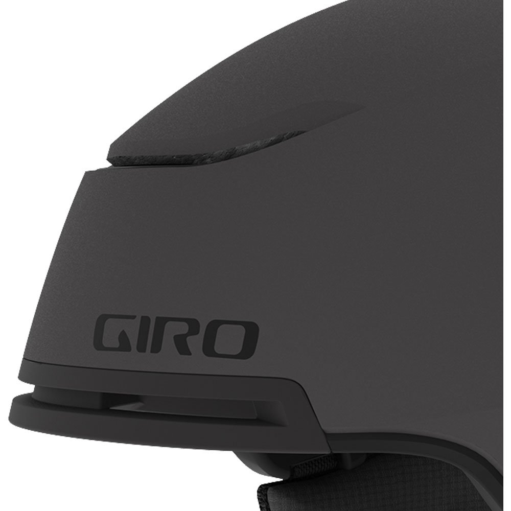 Giro Helmet Jackson Mips Mat Graphite Detail