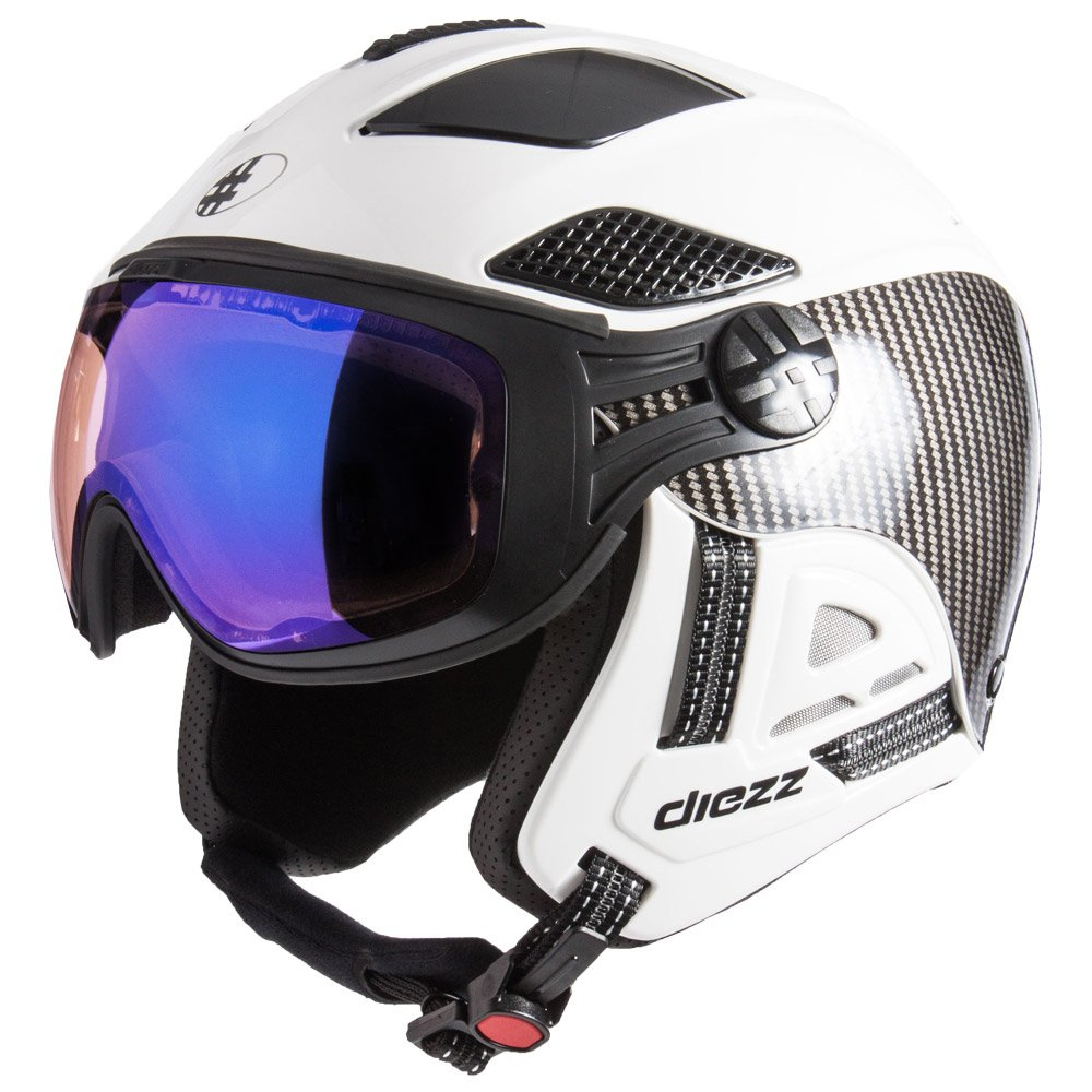 Diezz Visor helmet Louna 2 Ventury Carbon White Activilux ML Blue Cat 1-3 Overview