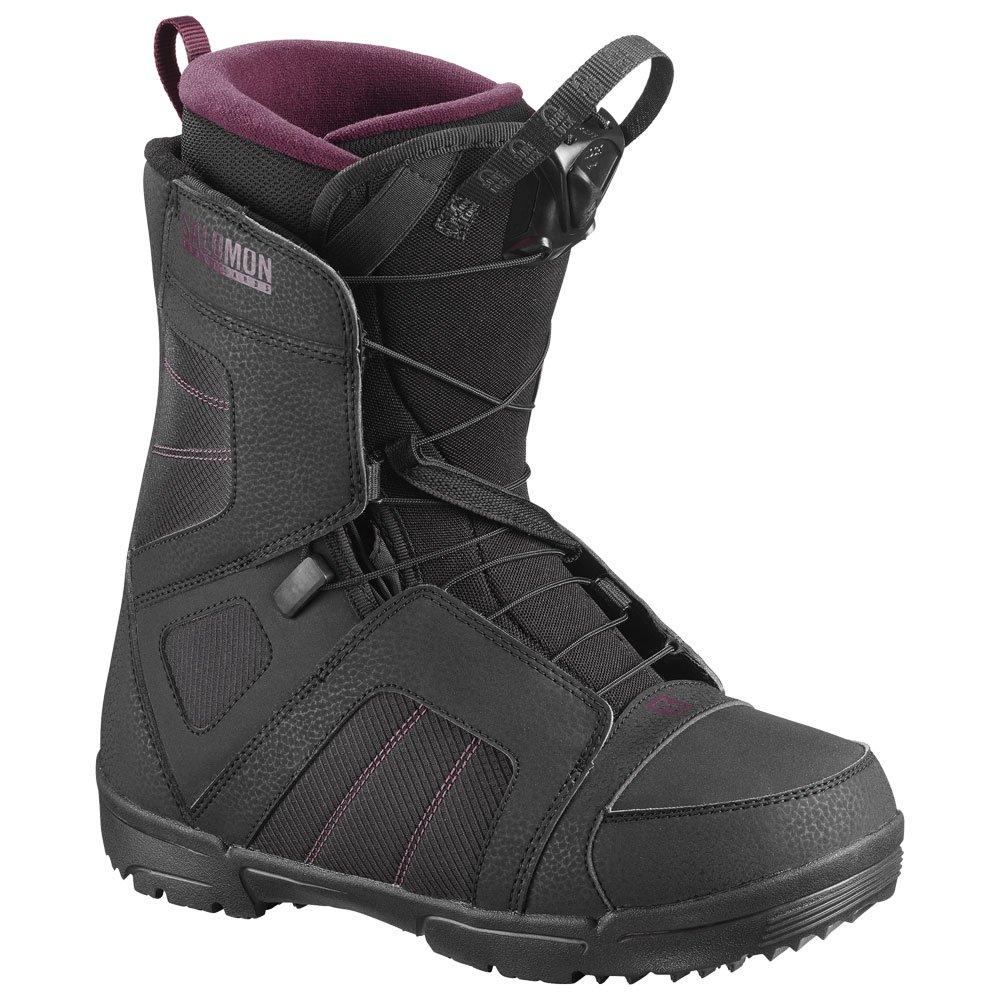 Boots Scarlet Scarlet Boots Salomon Black Salomon Scarlet Boots Salomon Black Boots Salomon Black 45LRjA